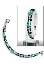 "Austin Design Double Strand 7.5"" Bracelet"