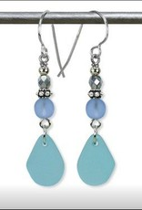 Austin Cake Poseideon Matte Glass Earrings