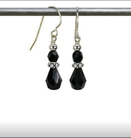 Austin Cake Fire Fly Crystal Tear Drop Earrings