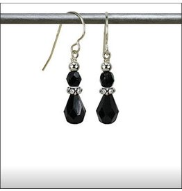 Austin Design Fire Fly Crystal Tear Drop Earrings