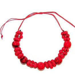 Angela Sanchez Handmade Light Buga Bombona Necklace