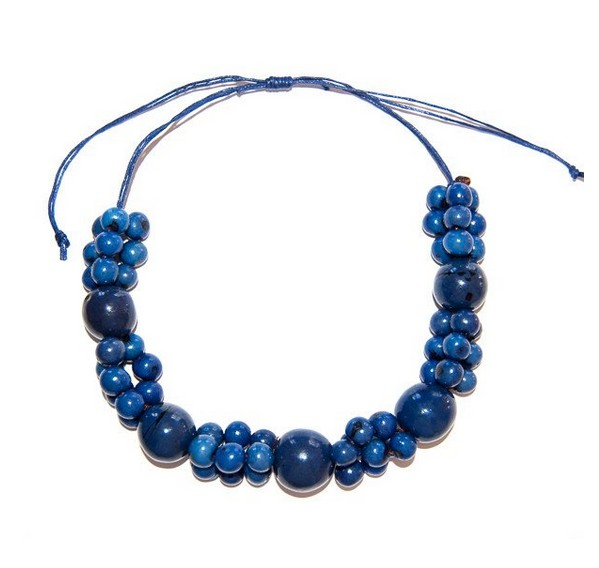 Angela Sanchez Handmade Light Buga Bombona Necklace