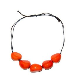 Angela Sanchez Neiva 5 Tagua Necklace