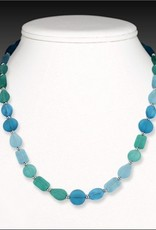 Austin Cake Necklace - Sunstone 18""