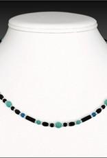 """Austin Cake Necklace - Cipher Dots Dash 17"""""""