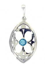 Vera + Wolf Sterling Silver Divinity Pendant