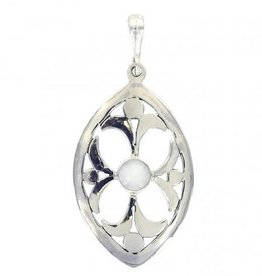 Vera Wolf Sterling Silver Divinity Pendant