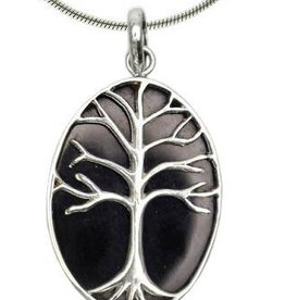 Vera + Wolf Shell Tree of Life Pendant