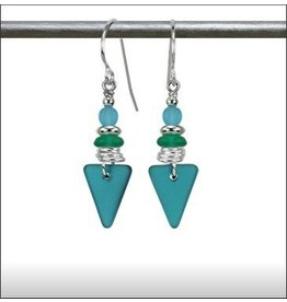 Austin Design Sea Style Triangle Earrings