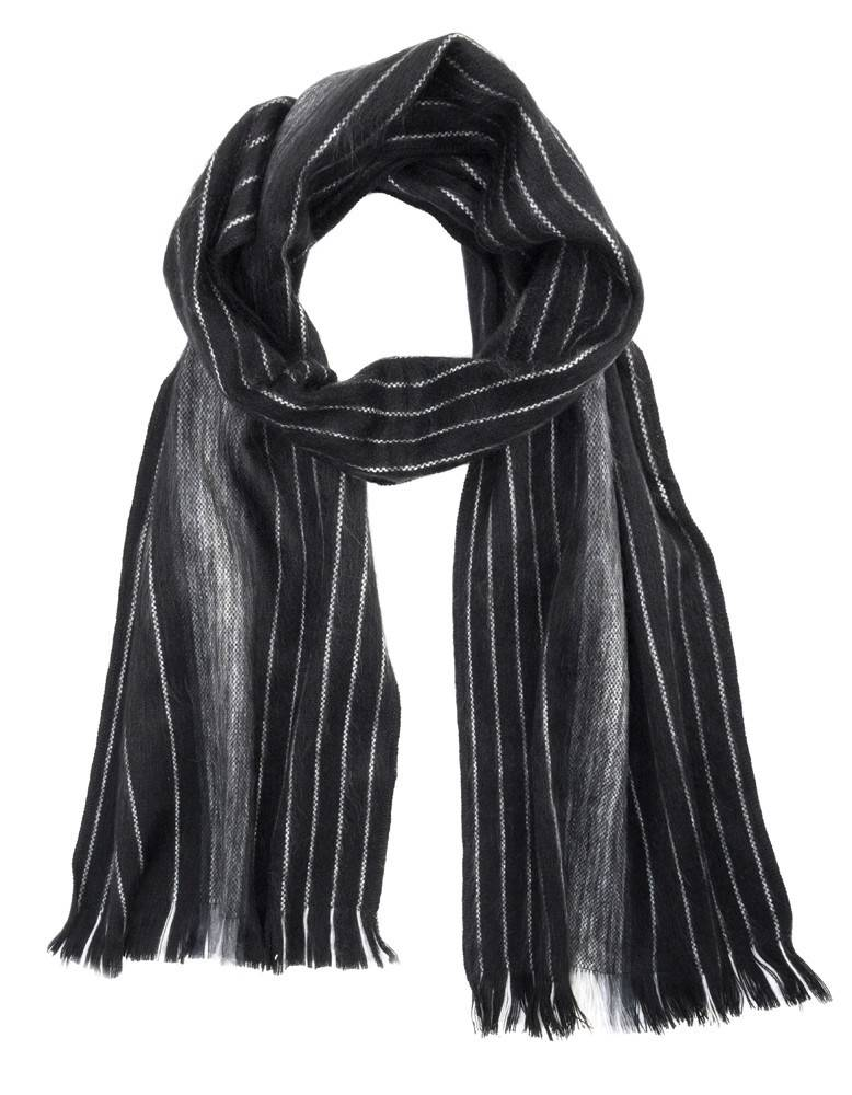Shupaca Alpaca scarf - black pearl