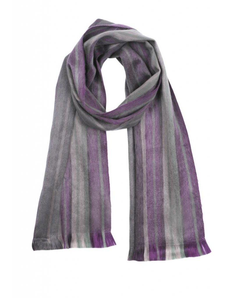 Shupaca Alpaca scarf - acai