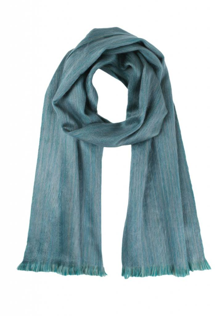 Shupaca Alpaca scarf - seagrass