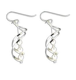 Mark Steel Earrings S57 Sterling Silver