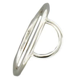 Mark Steel Half Circle Sterling Silver Ring 141