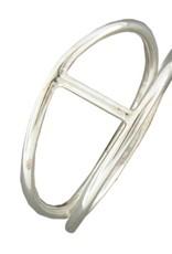 Mark Steel Single Bar Silver