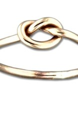 Mark Steel Single Knot Gold Filled Ring 43
