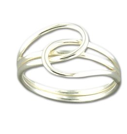 Mark Steel Passing Tier Sterling Silver Ring 64
