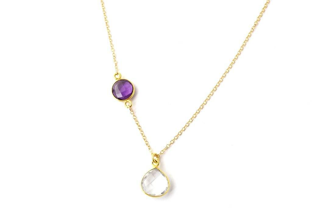 Kaliada Padilla Birthstone Necklaces