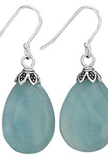 Steven + Clea Amazonite Earrings