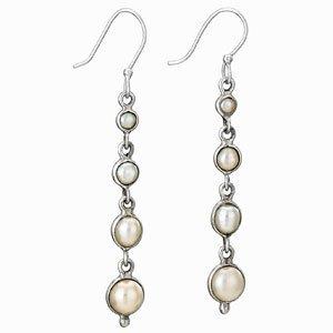 Steven + Clea Pearl Drop Earrings