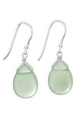 Steven + Clea Aventurine Drop Earrings