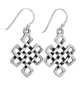 Tiger Mountain Tibetan Knot Earrings