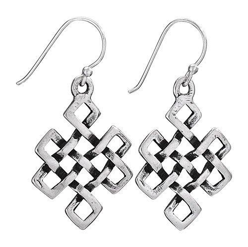 Steven + Clea Tibetan Knot Earrings
