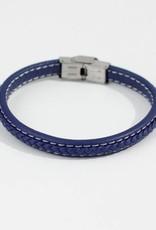 Marpa Eager Blue Men's Leather Bracelet - 356