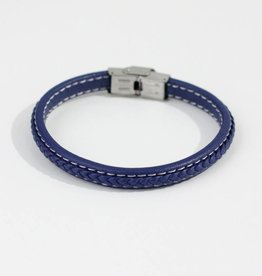 Marpa Eager Blue Men's Leather Bracelet - 356