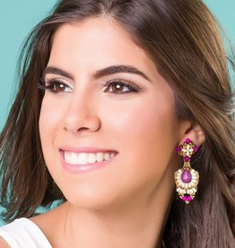 Esmeralda Lambert Earrings L29