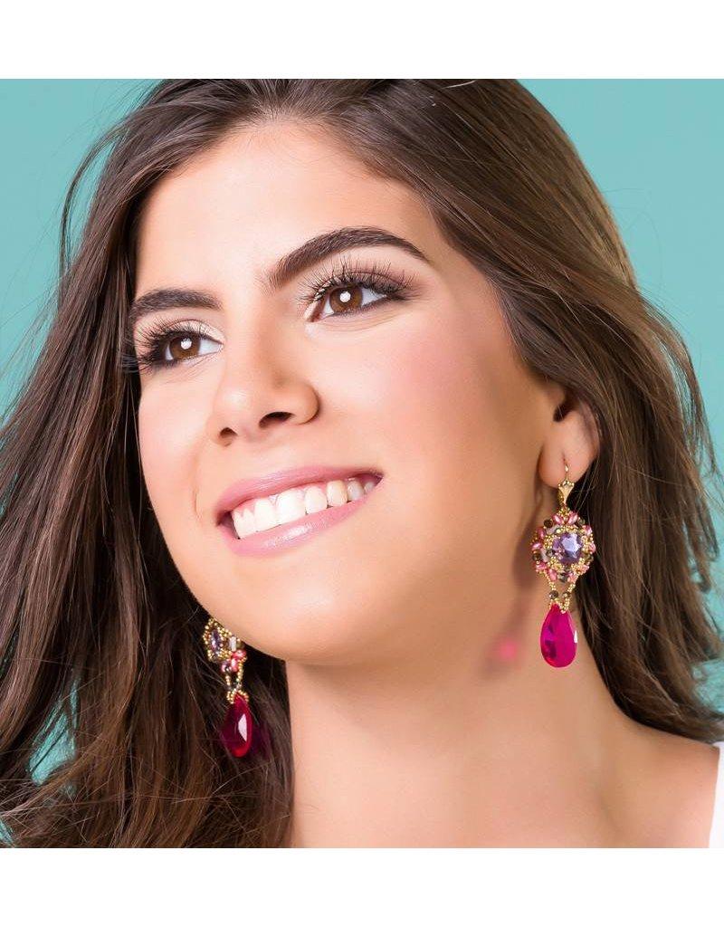 Esmeralda Lambert Earrings I36