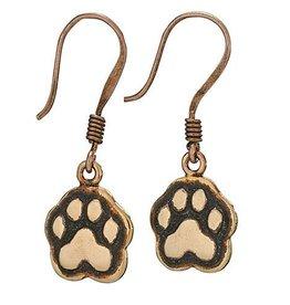 Steven + Clea Copper Paws Earrings