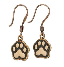 Tiger Mountain Copper Paws Earrings