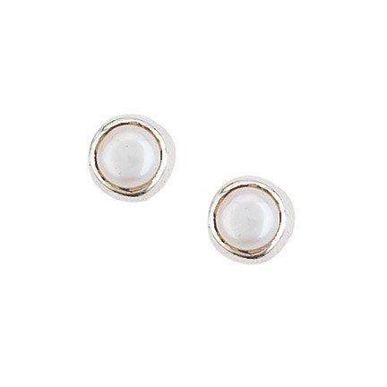 Steven + Clea Pearl Stud Earrings