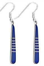 Steven + Clea Inlaid Lapis Earrings