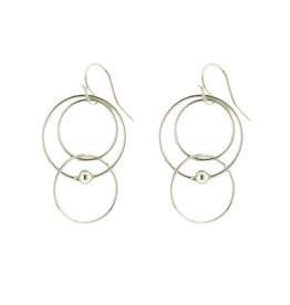 Mark Steel Single Ball Melt Sterling Silver Earring l40