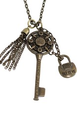 Helena Cho Anything is Possible Key Necklace