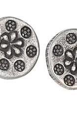 Steven + Clea 8 Flower Sterling Silver Stud Earring
