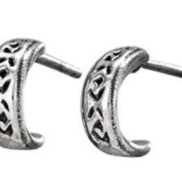 Steven + Clea Little Hoop Sterling Silver Earring