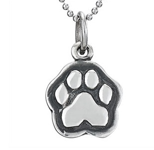 Steven + Clea Man's Best Friend Dog Sterling Silver Pendant Necklace