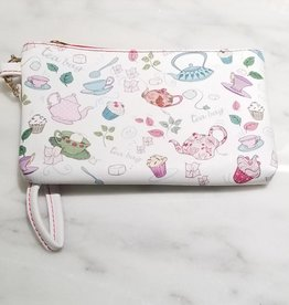 Valentina Oppezzo Tea Cups Vegan Friendly Wristlet