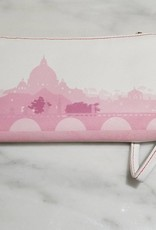 Valentina Oppezzo Painting in Rome Vegan Friendly Wristlet