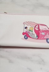 Valentina Oppezzo Painting in Rome Vegan Friendly Wristlet