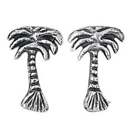 Steven + Clea Palm Tree Stud Earrings