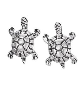 Steven + Clea Turtle Stud Earrings
