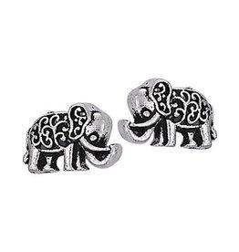 Steven + Clea Lucky Elephant Stud Earring