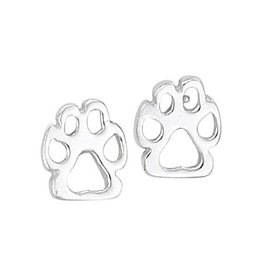 Steven + Clea Dog Paws Stud Earrings