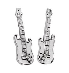 Steven + Clea Electric Guitar Sterling Silver Stud Earring