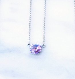 Atlantis Berlin Violet Swarovski Pendant Necklace