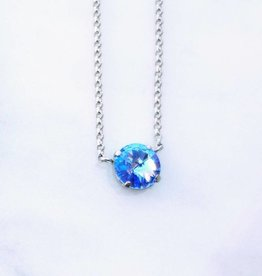 Atlantis Berlin Light Sapphire Swarovski Pendant Necklace